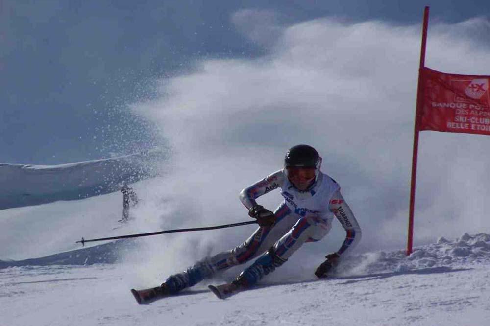 section ski alpin compétition