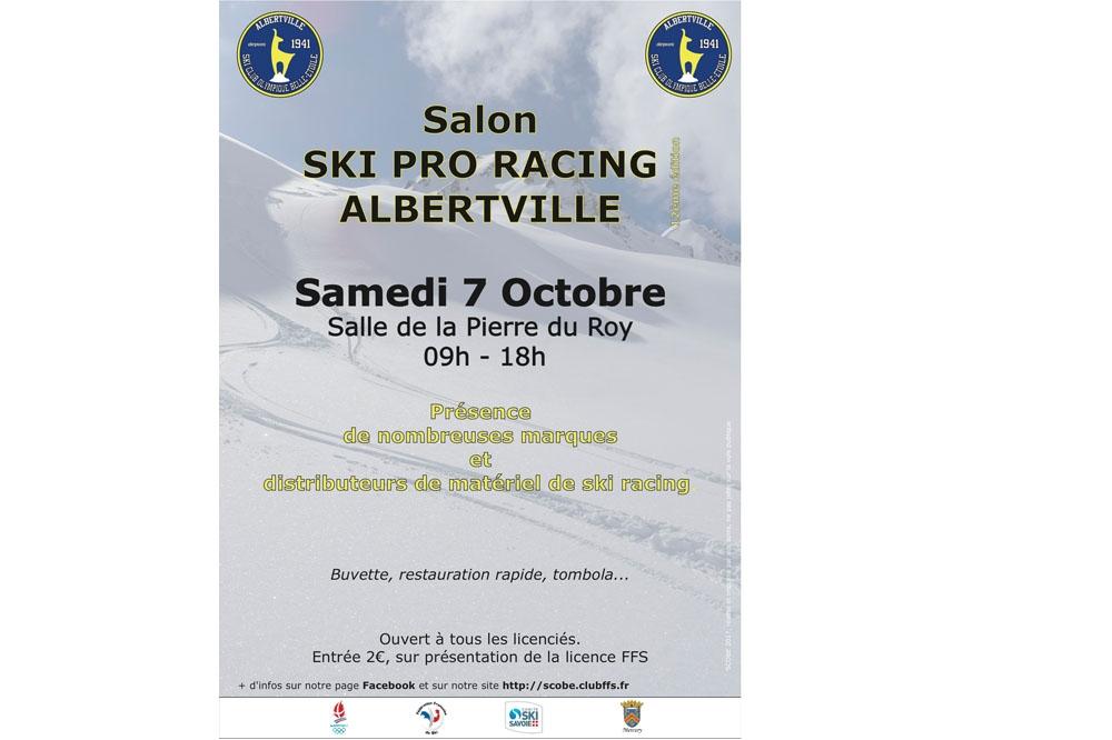 Salon du matériel de ski racing