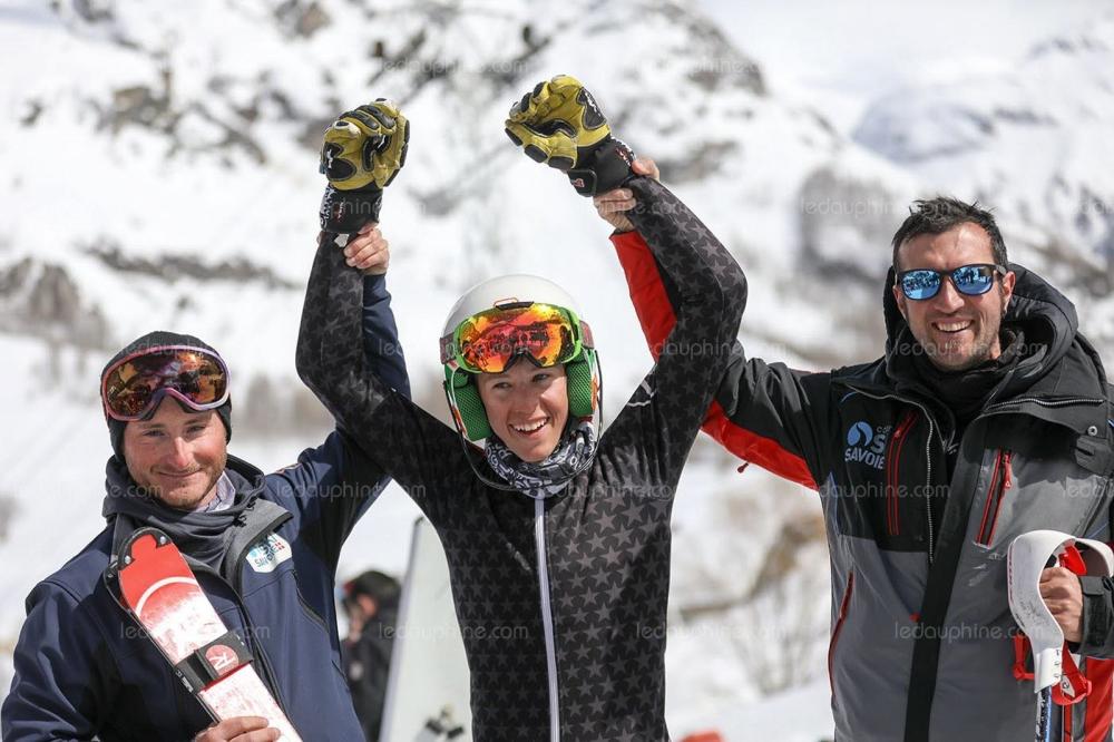 Mattéo CARETTI vainqueur de la SCARA slalom U14 !!!!